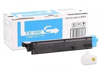 Kyocera Mita TK-590 Mavi Orjinal Toner