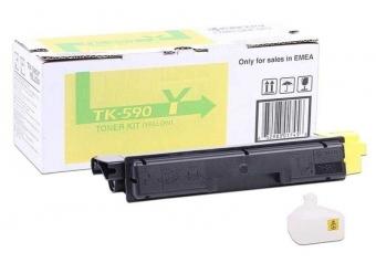 Kyocera Mita TK-590 Sarı Orjinal Toner