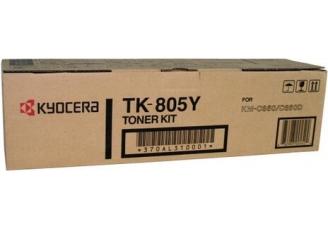 Kyocera TK-805Y Sarı Orjinal Toner