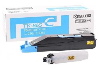 Kyocera Mita TK-865 Mavi Orjinal Fotokopi Toner