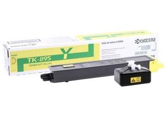 Kyocera Mita TK-895 Sarı Orjinal Toner