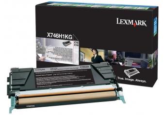 Lexmark X746-X746H1KG Siyah Orjinal Toner