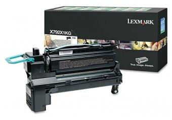 Lexmark X792-X792X1KG Siyah Orjinal Toner