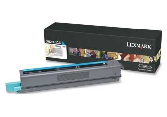 Lexmark X925-X925H2CG Mavi Orjinal Toner