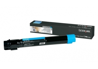Lexmark X950-X950X2CG Mavi Orjinal Toner