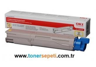 Oki C3300-43459345 Sarı Orjinal Toner
