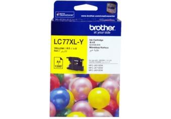 Brother LC77XL Sarı Orjinal Kartuş