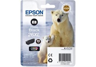 Epson T26XL C13T26314020 Orjinal Foto Siyah Kartuş