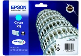 Epson T79 C13T79124010 Orjinal Mavi Kartuş