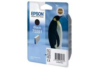 Epson T5591 C13T55914020 Orjinal Siyah Kartuş